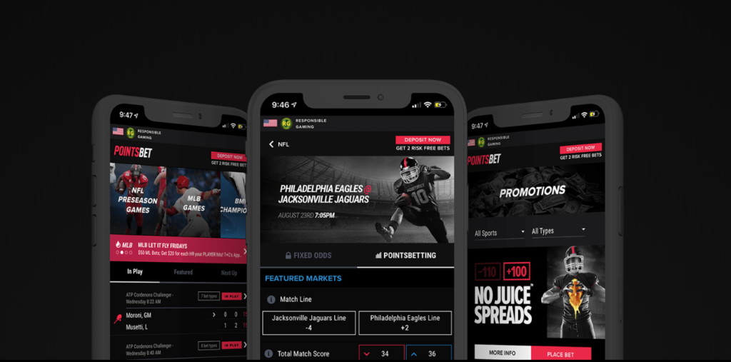 pointsbet sportsbook review mobile app