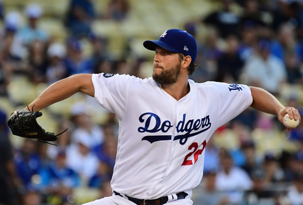 MLB: Los Angeles Dodgers, Clayton Kershaw