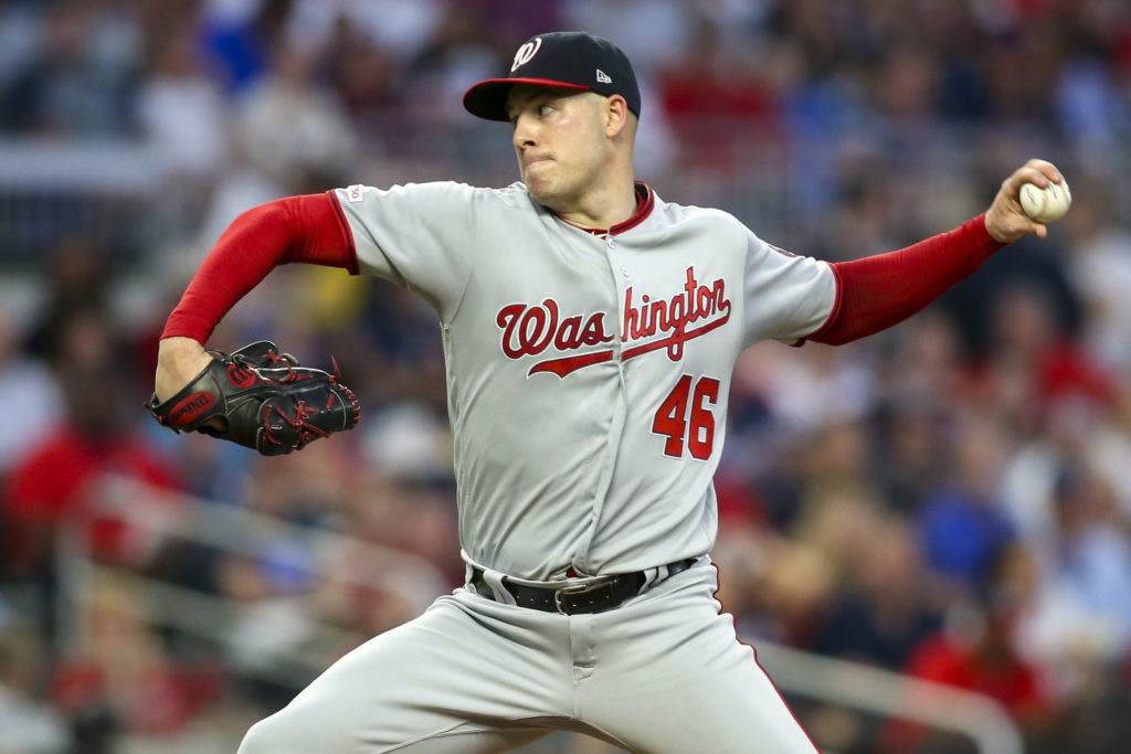 MLB: Washington Nationals, Patrick Corbin