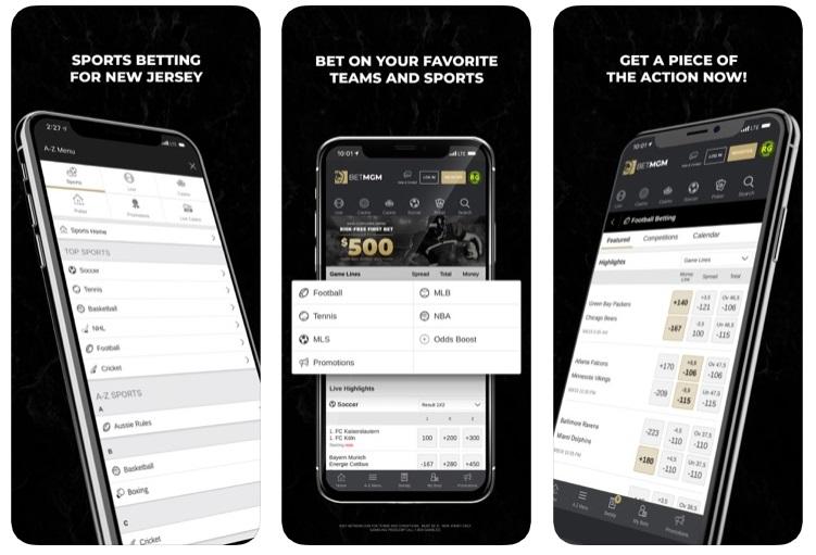 BetMGM app