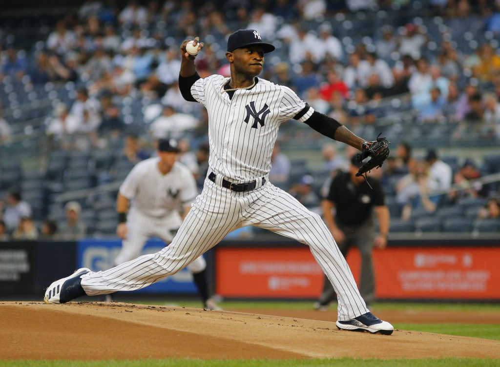 New York Yankees Domingo German