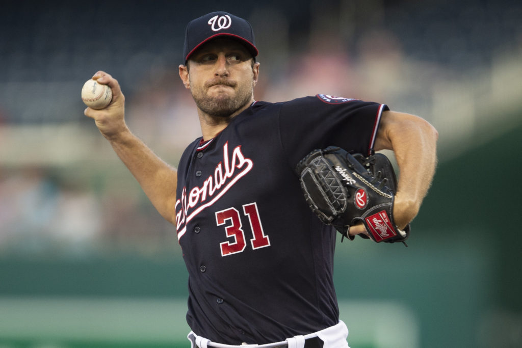 Max Scherzer Washington Nationals