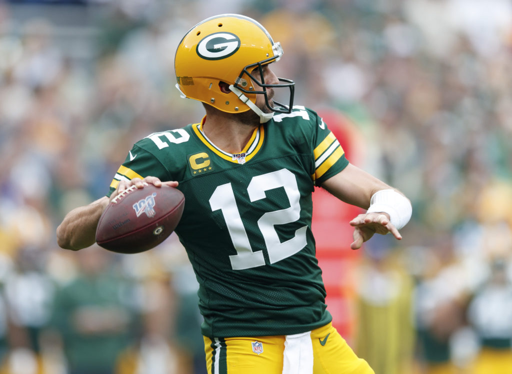 Week 5 NFL Aaron Rodgers