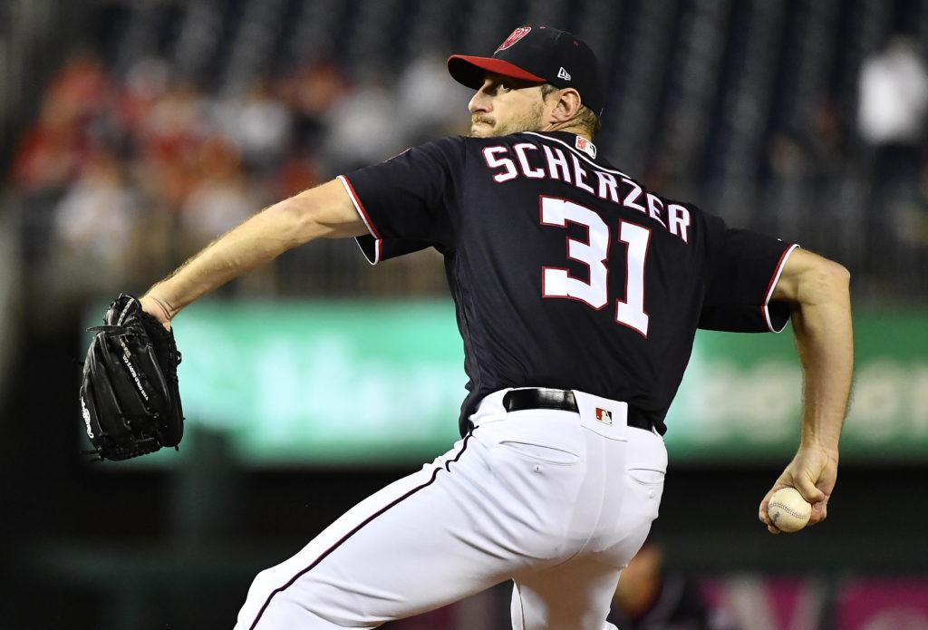 MLB: Washington Nationals, Max Scherzer