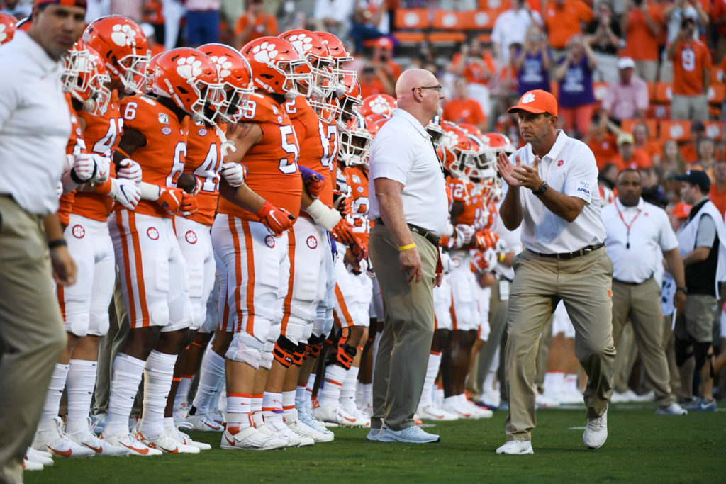 Clemson Tigers national championship odds