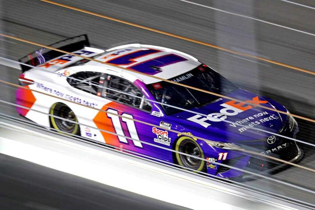 Denny Hamlin is the favorite entering the Daytona 500.