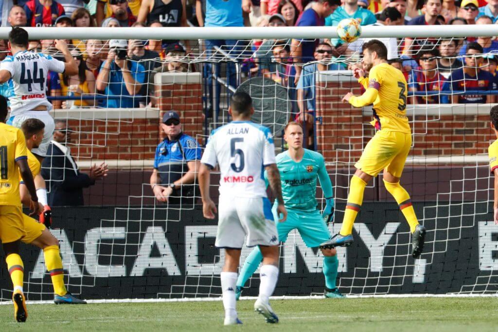 Barcelona Gerard Pique Champions League picks