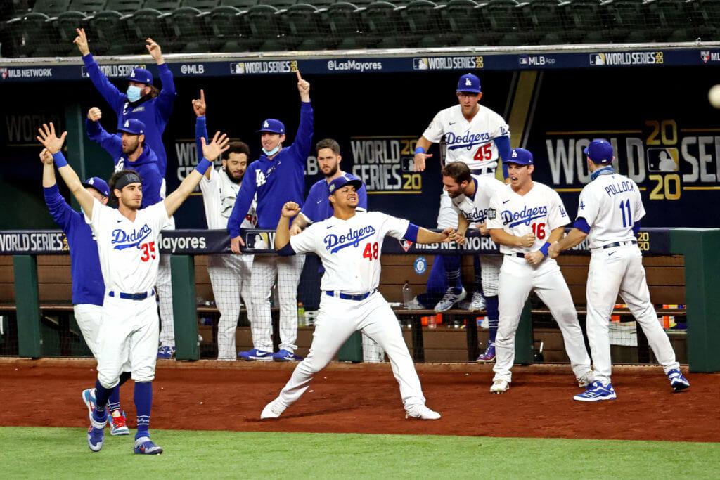 MLB world series 2020 LA Dodgers