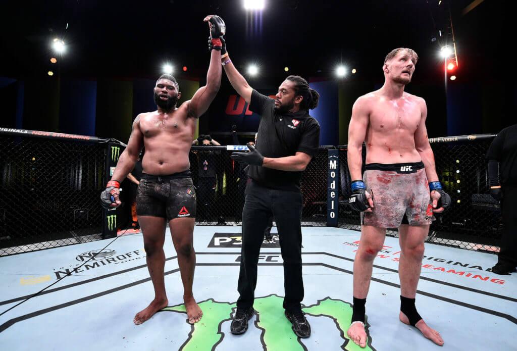 curtis blaydes UFC picks Saturday 20th