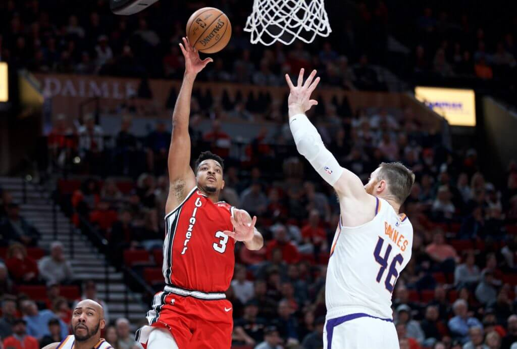 Portland Trail Blazers Phoenix Suns NBA picks against spread