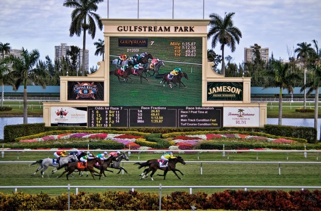 Union Park Gal is hoping its third time lucky at Gulfstream Park on Wednesday.