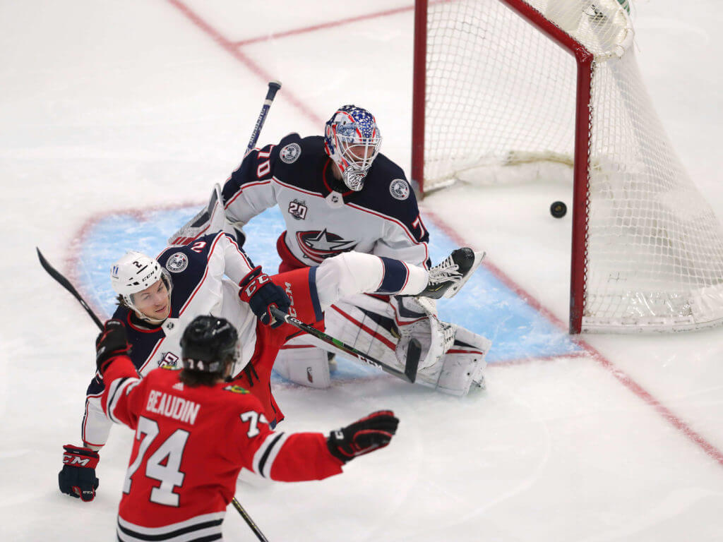 Chicago Blackhawks Columbus Blue Jackets NHL predictions
