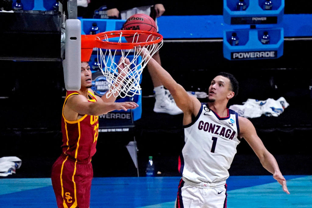 Gonzaga Bulldogs NCAA March Madness Player Prop Bets