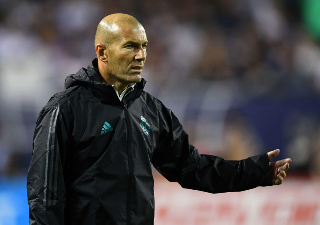 Zinedine Zidane Real Madrid Champions League predictions