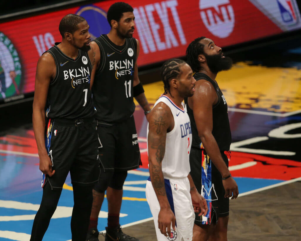 Brooklyn Nets Irving Harden Durant Leonard LA Clippers NBA Betting Sites