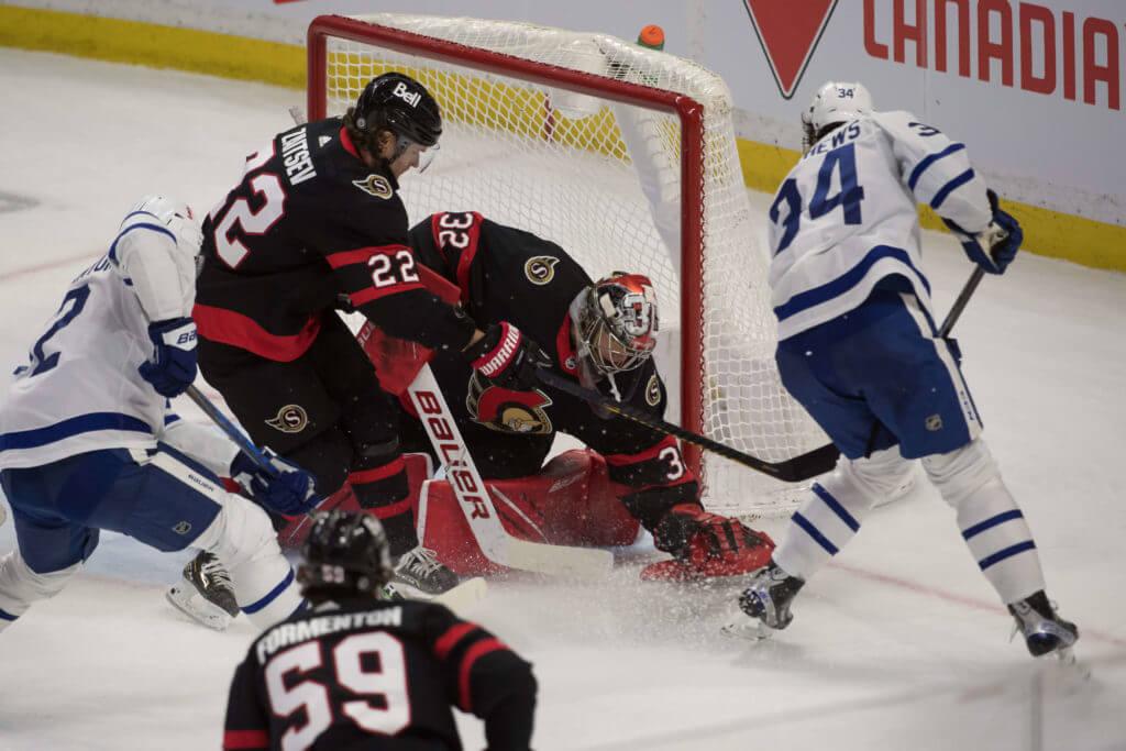Toronto Maple Leafs Ottowa Senators How to bet on hockey