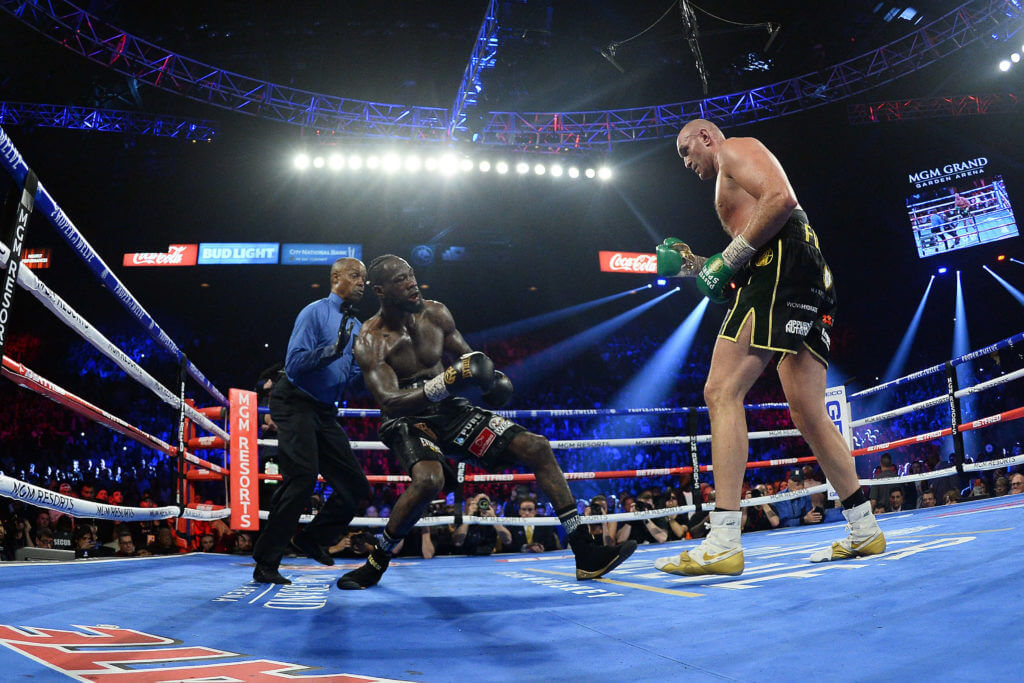 Tyson Fury Deontay Wilder Odds
