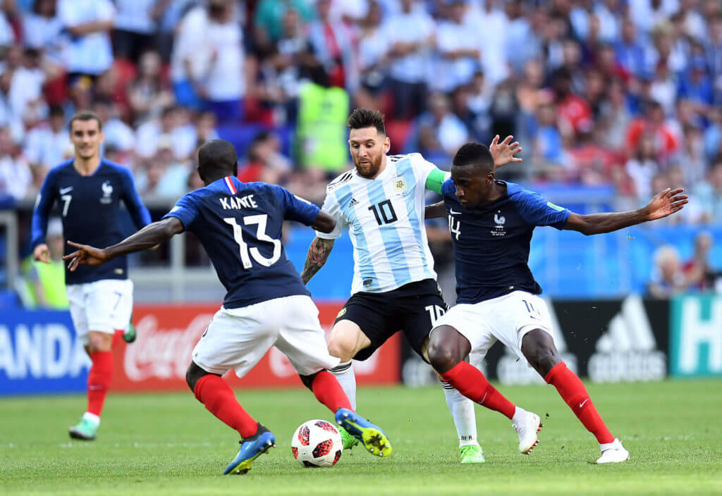Lionel Messi Argentina France FIFA World Cup