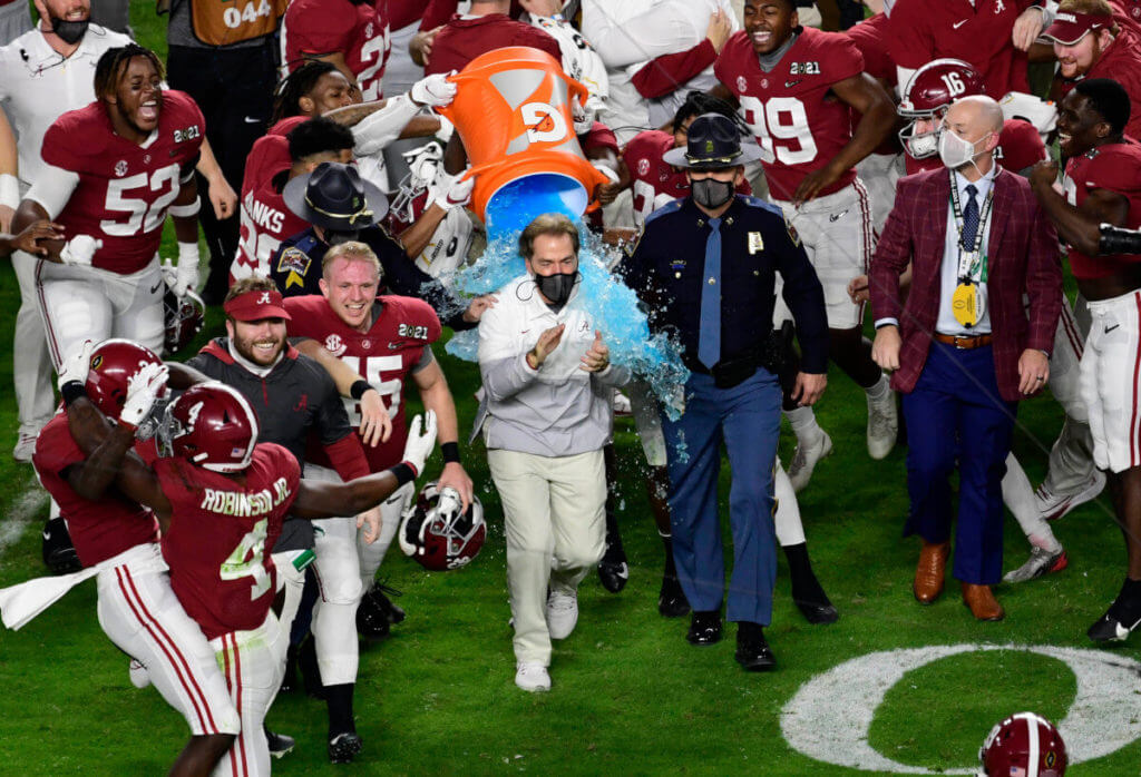 NCAA College Football Championship Odds 2021