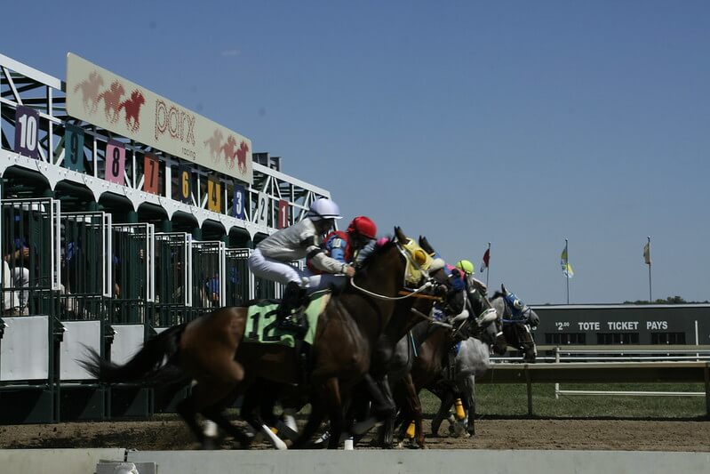 And they're off at PARX Racing