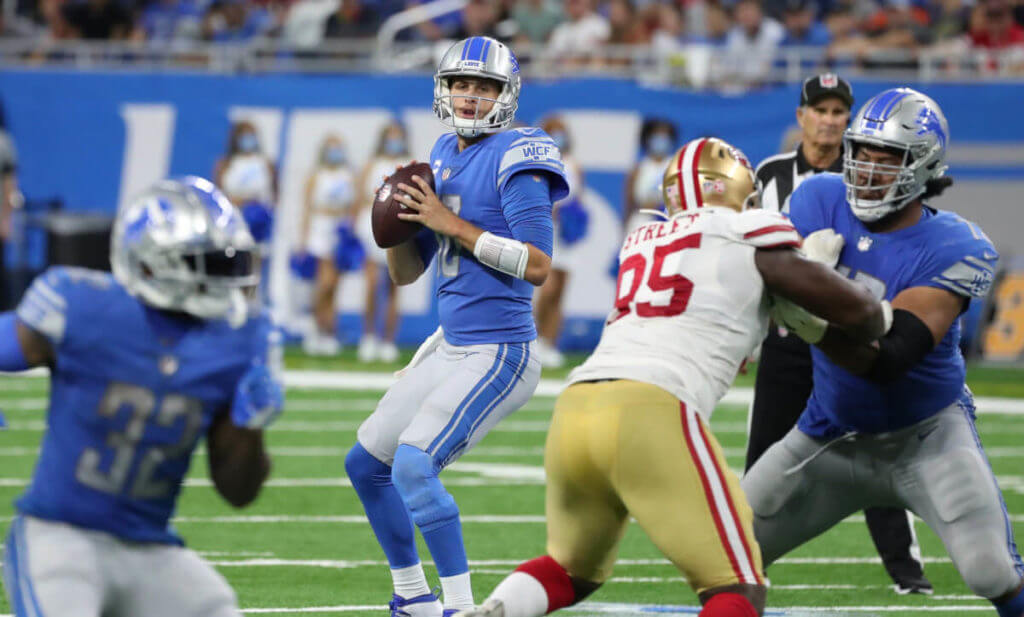 Lions-vs-Packers predictions Jared Goff