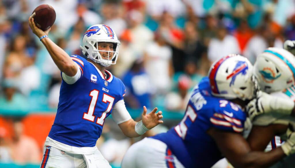 Washington vs Bills predictions Josh Allen