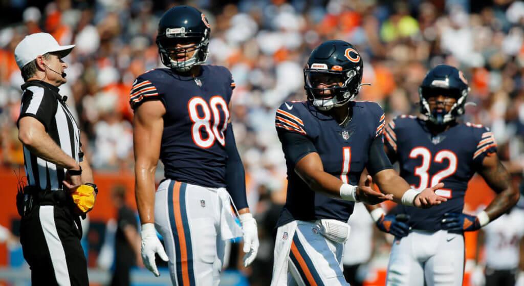 Bears vs Browns predictions Justin Fields